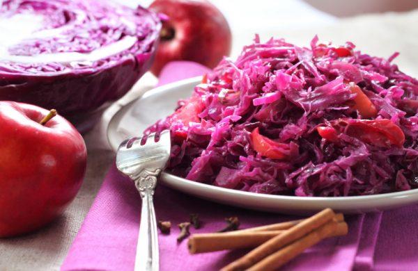 Rode kool met appel recepten