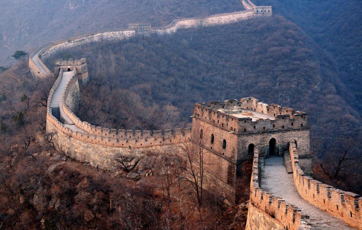 Een informatie begin artikel over de chinese muur - Muur van de ingang ...
