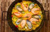 Paella recept