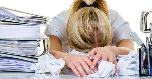 Symptonen van een burnout
