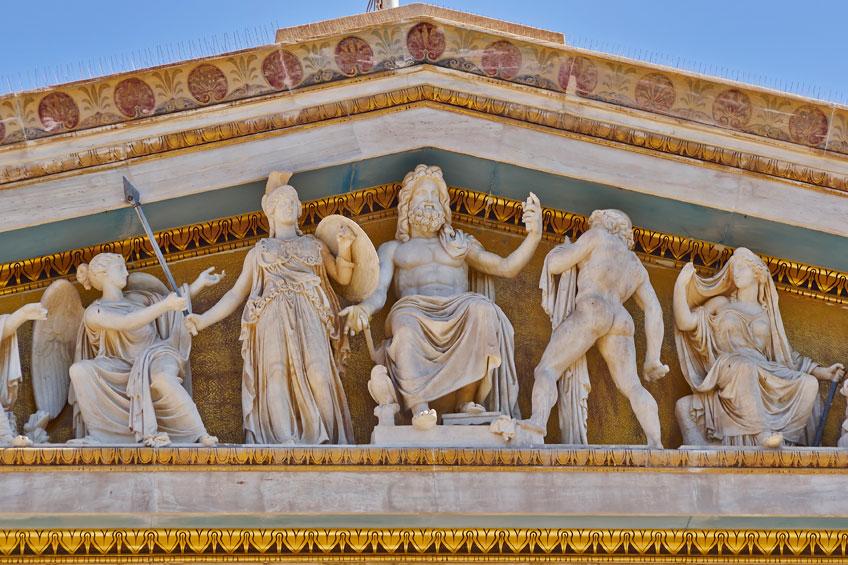 Goede Griekse en Romeinse goden - Informatie Begin JK-23