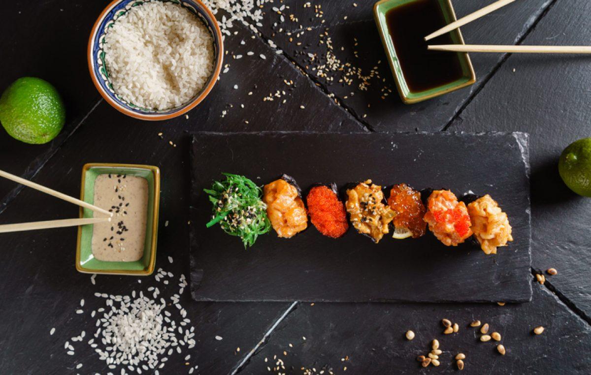 Sushi saus maken