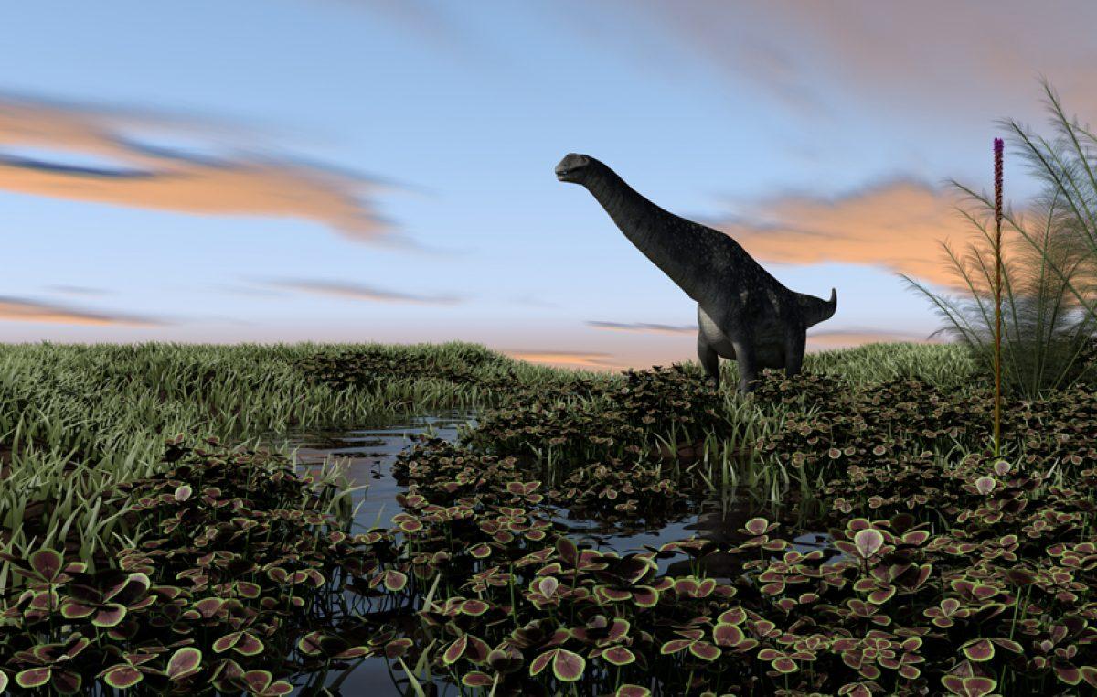 Titanosaurussen