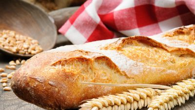 Stokbrood bakken