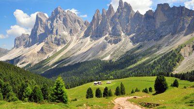 Vakantie naar de Alpen